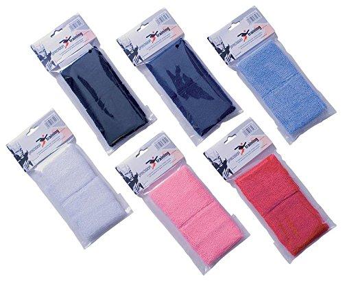Precision Training Tennis Armbänder, schwarz, Einheitsgröße