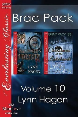 Brac Pack, Volume 10 [Brac Pack Halloween Murder Mystery: Christmas at the Lakelands'] (Siren Publishing Everlasting Classic ManLove) by Lynn Hagen - Halloween Siren