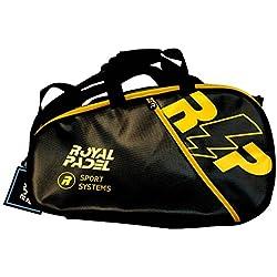 Royal Padel Voltage Paleteros de Pádel, Unisex Adulto, Negra/Amarillo, Talla Única