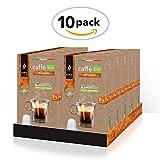 100 capsule Caffè Biologico & Fairtrade - Intenso - 10 confezione da 10 Capsule Biodegradabili Nespresso®* 1 confezione GRATIS