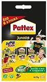 Pattex Junior Super stick Tube de colle Transparent - Super stick 22g - lot de 6
