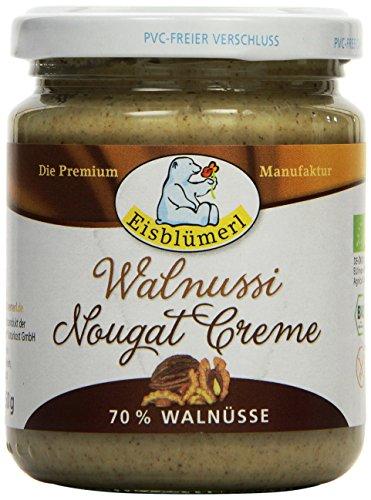 Eisblümerl Walnussi Bio Nougat Creme, 250 g