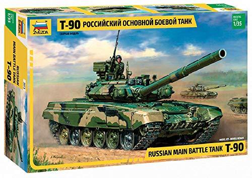 :35 Modelle Russischer Kampfpanzer T-90 ()