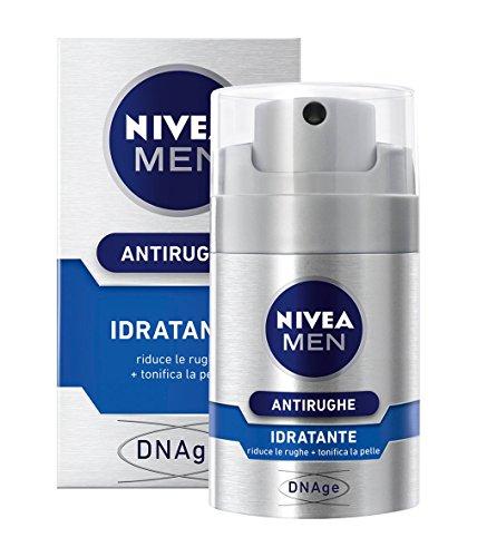 Nivea Men Antirughe Idratante, Riduce le Rughe e Tonifica la Pelle, 50 ml
