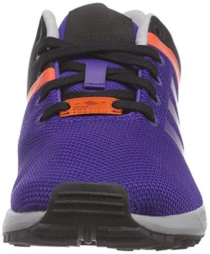 Adidas Zx Flux Split Scarpe sportive, Uomo Viola (Violett (Collegiate Purple/Collegiate Purple/Bold Orange))