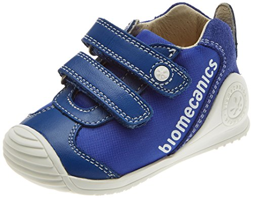 Biomecanics Baby Jungen 182154 Niedrige Hausschuhe, Elektrischblau (Sauvage), 23 EU