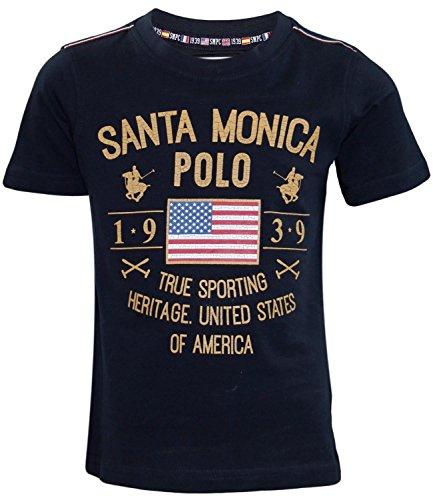 Santa Monica - Maglietta sportiva -  ragazzo Navy 9-10 Anni