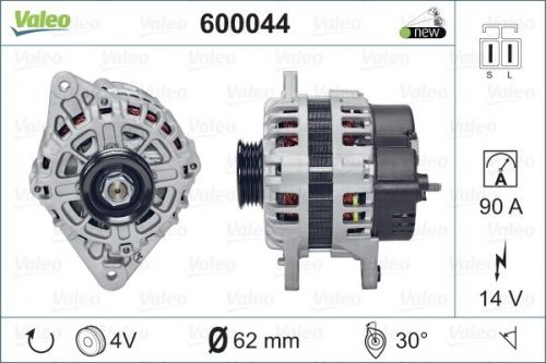 Preisvergleich Produktbild VALEO 600044 Generator