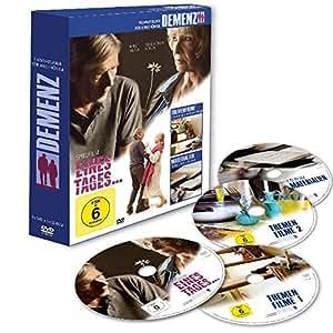 """Demenz-Filmratgeber für Angehörige mit dem Spielfilm """"Eines Tages..."""": DVD-Box mit 3 DVDs und 1 CD-ROM"""