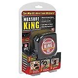 MEASURT KING Digital-Maßband String-Modus Rollenlineal, Sonic-Modus & Roller-Modus Tape Bandmass(3 in 1 mk-mc12/4) (Rot)