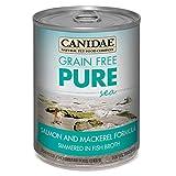 CANIDAE Grain Free PURE Sea Dog Wet Formula with Salmon & Mackerel, 13 oz (12-pack)