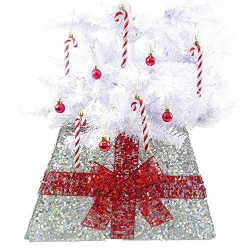 Christmas Concepts® Falda Base Navidad Cinta - Varios