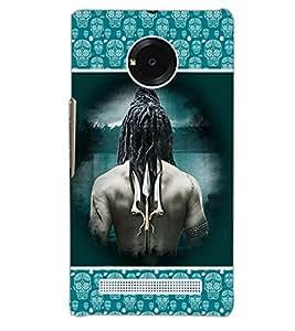 YU YUPHORIA LORD SHIVA Back Cover by PRINTSWAG