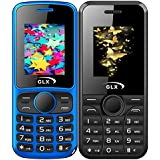 GLX W5 & W8, Basic Feature Mobile Phone, Combo Of 2 (Blue+Black)