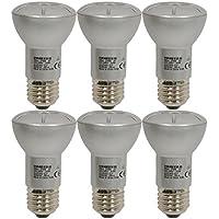 6 x Osram STAR R50 40 30° LED Reflektor E27 Lampe 3.9 Watt ersetzt 40 Watt 2700K warm-weiß 196 Lumen