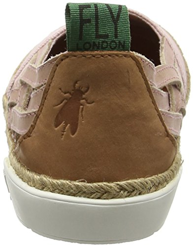 FLY London Eeka960, Espadrilles Femme Rose (Rosecord)