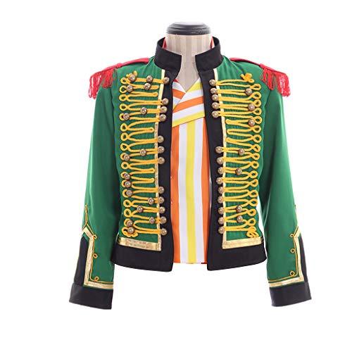 Cosplayitem Herren Prinz Kostüm Oberbekleidung Jacke Brillant Mittelalter Kostüm