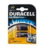 Duracell DL123A Ultra Lithium 123 Batterie (2-er...