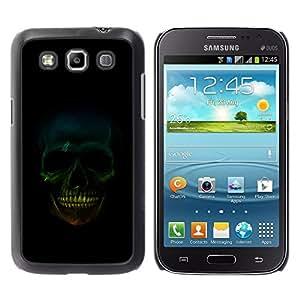 YiPhone /// Premium Schlank Snap-Fall-Abdeckung Shell Rüstung Schutzhülle - Skull Smile - Samsung Galaxy Win I8550 I8552 Grand Quattro