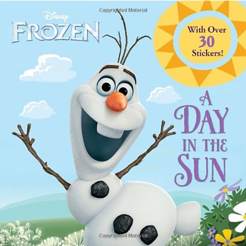 Click for larger image of A Day in the Sun (Frozen (Random House))