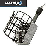 Fox Matrix Mini Swivel Caged Feeders - 1 Futterkorb zum Feederangeln, Feederkorb zum Friedfischangeln, Futterkörbchen zum Feedern, Gewicht:30g