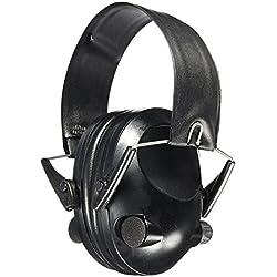 Elektronische Ohrenschützer Low Profile Cup Lärmreduzierung und Schallverstärkung Schießen und Industriearbeit Mähen des Rasens Ohrenschützer