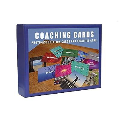 Cartes de coaching de management par photo-association et jeu de qualités pour le développement en équipe, les formateurs, coachs et dirigeants