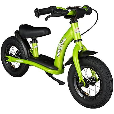 BIKESTAR® Premium 25.4cm (10 pulgada) Bicicleta sin pedales para niños de 2 años - Edición Clásico -