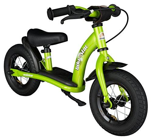 Preisvergleich Produktbild BIKESTAR® Premium Sicherheits-Kinderlaufrad für kleine Abenteurer ab 2 Jahren  10er Classic Edition  Brilliant Grün