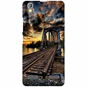 Lenovo A6000 Back cover - Bridge Designer cases