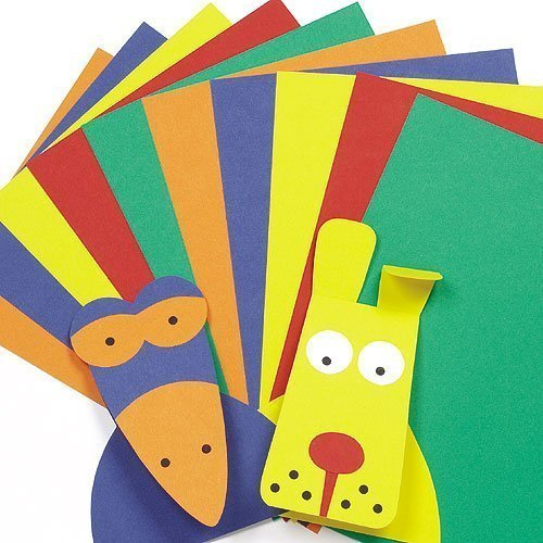 A4-Card-Value-Pack-Kids-Art-Craft-Activities-Collage-5-Assorted-Colours220gsm-Pack-of-50