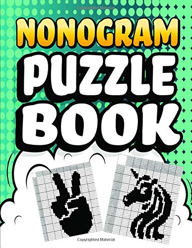 Nonogram Puzzle Books: 30 Mosaic Logic Grid Puzzles For Adults and Kids