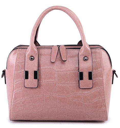 Sacs à main pour femme Xinmaoyuan Mesdames cuir épaule Sac à main croix diagonale Sacs à main en cuir occasionnels Pink