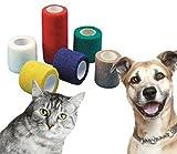 51O v951U2L. SL160  UK BEST BUY #11x 7.5cm x 4.5m Yuzet Tan pet and animal friendly non adhesive bandages cat horse dog equine price Reviews uk