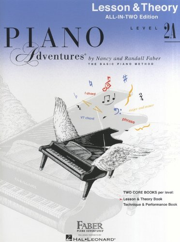 Free Piano Adventures: Lesson And Theory Book - Level 2A
