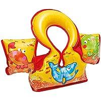 Intex 58673EU - Chaleco/manguitos hinchables anti rozaduras 66 x 44 cm