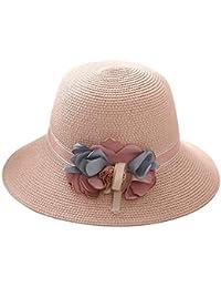 Gorros Damas Mujer Sombrero De Verano Pesca De Ocasional Sombrero Plegable  Sombrero De Playa De Verano f8b499298b0a