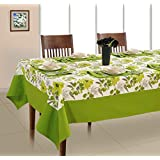 Set Of 7 Printed Cotton 6 Seater Table Cover Set