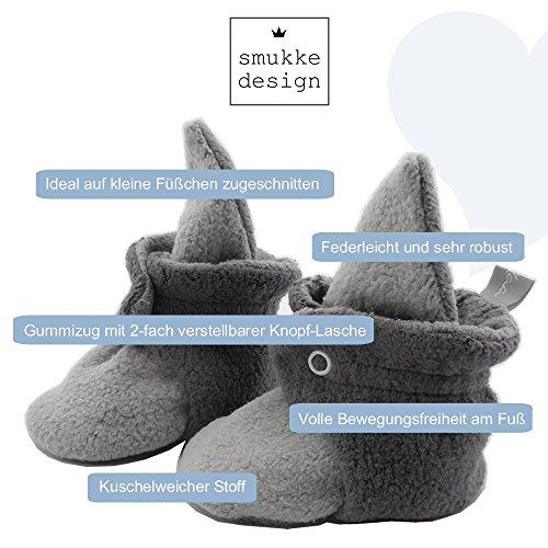 Baby Schuh Booties Babyschuh Babysocken Socken Schuh Krabbelschuh Lauflernschuh Babybooties für Mädchen und Jungen - SmukkeDesign NEU navi-camel