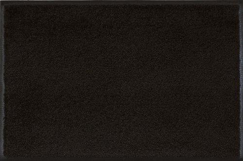 WASH+DRY - ALFOMBRA  RAVEN BLACK 50X75  NEGRO