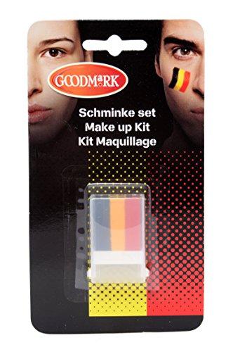 Goodmark Schminkstift Belgien, 2er Pack (2 x 1 Stück) (Ihre Nächsten Kostüme)