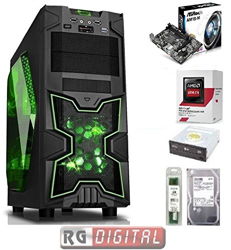 MD Quad  Core  XCOMPUTER DESKTOP Gaming  A4 RAM 8GB HD 1TB iTeK 3.0OP PC ASSEMBLAT - Op Quad