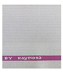 Raymond 35 % Merino Wool Beige Unstitched Trouser Fabric (1.20 metres)