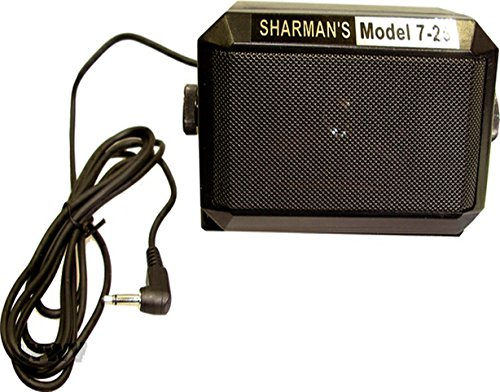 Sharman Large CB/PA Communication Speaker Complete With Mounting Bracket  SPK-725