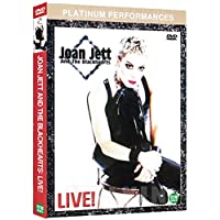 Joan Jett and the Blackhearts Live! (2001) UK Region 2 compatible ALL REGION DVD