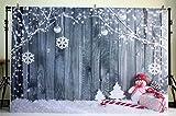 nivius Photo Muñeco de nieve y holzbrett fotografía croma para weihnachtsfeier Decoración Niños...