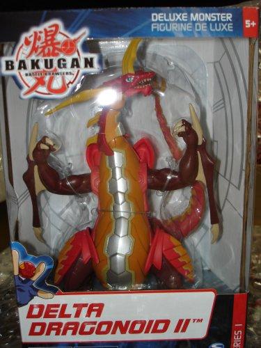 Bakugan Collector Exclusive Monster Series 1 Deluxe Figure Delta Dragonoid II by SpinMaster