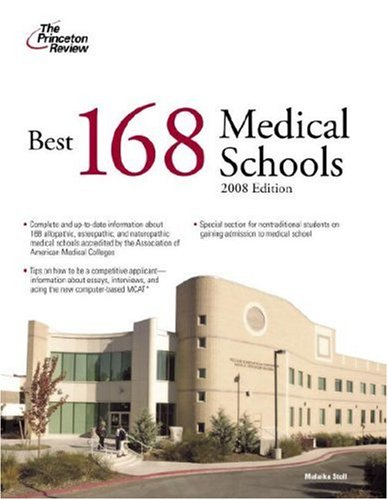 Best 168 Medical Schools, 2008 Edition PDF Books