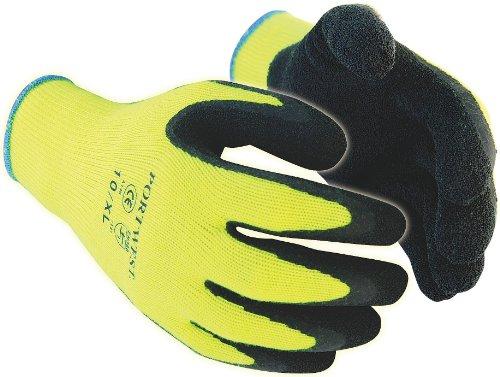 Portwest a140bkrxl Handschuh Grip Thermo-Das Extremer Kälte, gelb/schwarz, XL/10 -