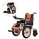 Deaktiviert Faltbar 16 Zoll Großes Vorderrad Elektrisch Rollstuhl Alter Mann Roller -Kohlenstoffstahlrahmen - Atmungsaktives Mesh-Kissen Von MAG.AL